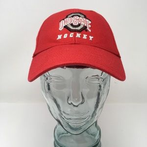 Nike Bauer Ohio State Hockey Baseball Hat